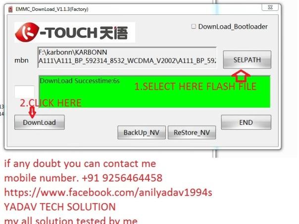 Karbonn A111 dead after flash solution by Anil yadav | YADAV TECH